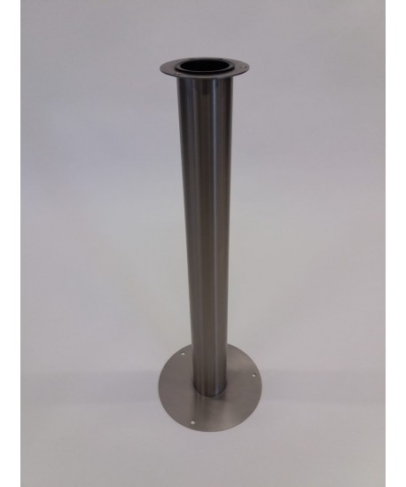 Edelstahl Vase XL LxBxH 24,9x24,9x72cm