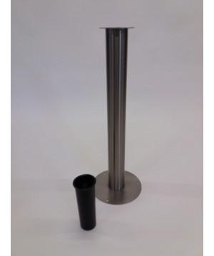 Edelstahl Vase XL
